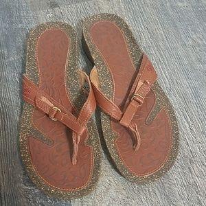 Teva Leather Strap Sandals
